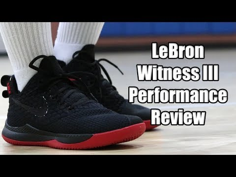 df298f32a Nike LeBron Witness 3 Performance Review - YouTube
