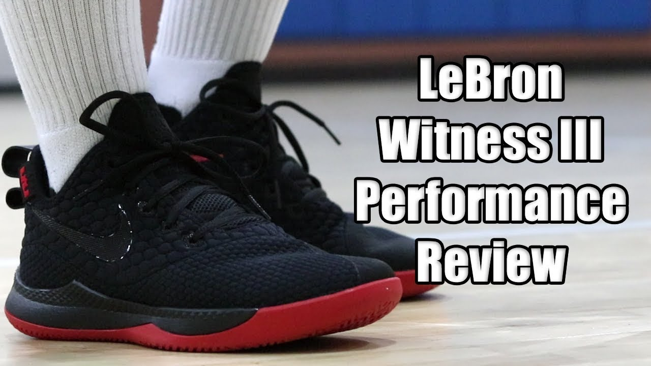 5e029634906 Nike LeBron Witness 3 Performance Review - YouTube