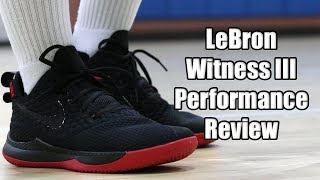 lebron witness iii prm