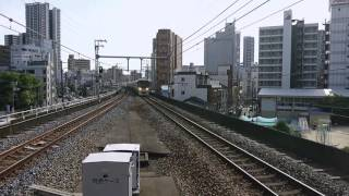 初川重製❗323系LS08編成 吹田出場回送 到着 @福島