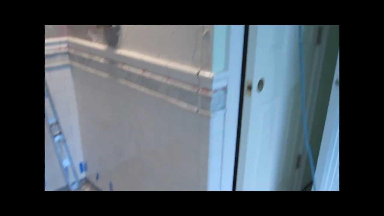 Subway Tile Master Bathroom - YouTube