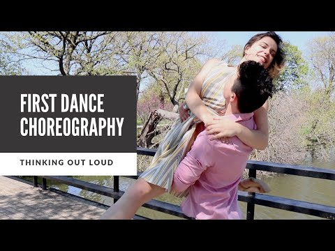 """Easy Wedding Dance to """"Thinking Out Loud"""" - Full Version!"""
