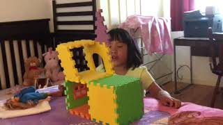 Veronica and Maddie's building competition 2