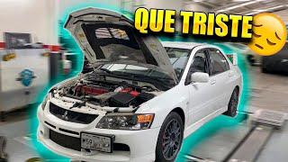 PEQUEÑOS PROBLEMAS CON EL LANCER EVO    ALFREDO VALENZUELA