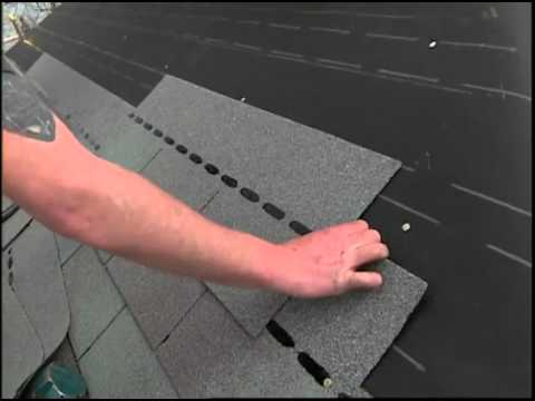 Asphalt Roof Shingles Installation Youtube