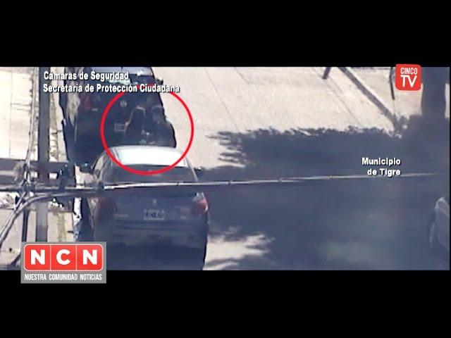 CINCO TV - El COT impidió que un hombre siguiera agrediendo a su pareja
