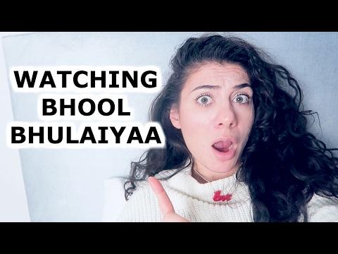 BHOOL BHULAIYAA DUTCH GIRL BOLLYWOOD REACTION    TRAVEL VLOG IV