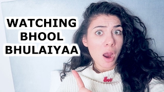 BHOOL BHULAIYAA DUTCH GIRL BOLLYWOOD REACTION  | TRAVEL VLOG IV