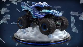 Ice Dragon Monster Jam Truck 360 Turntable Views