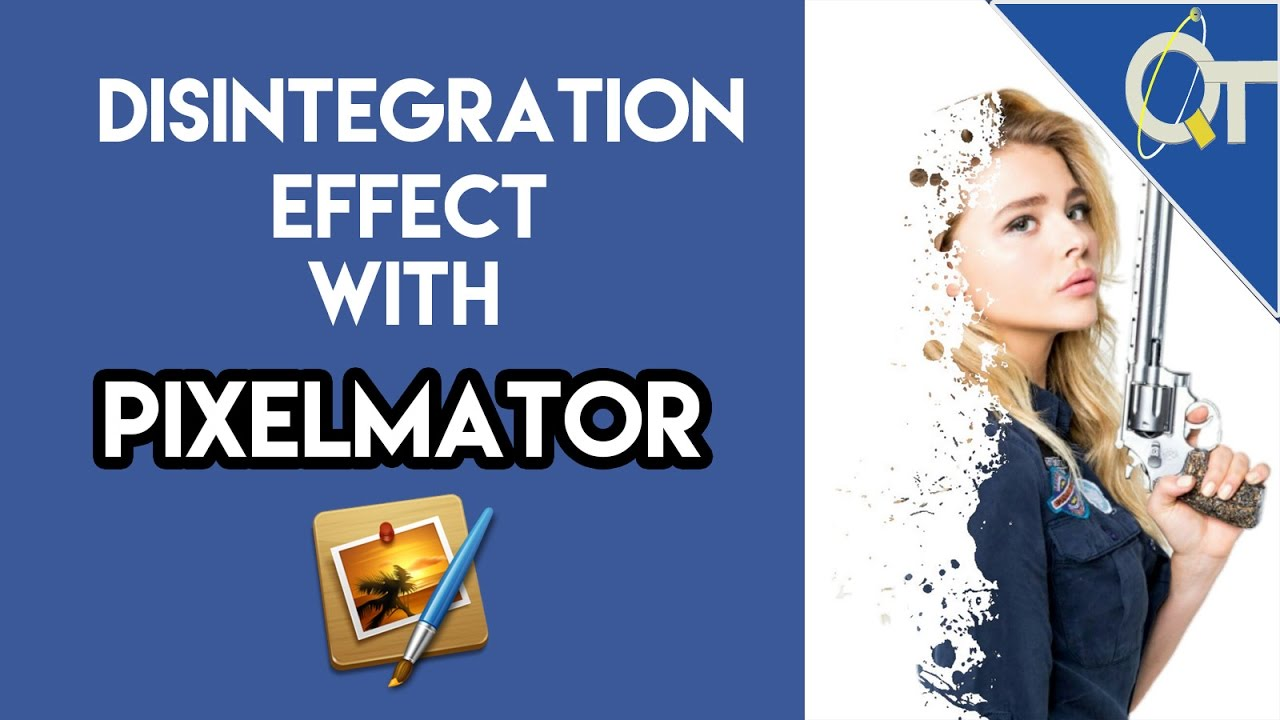 TUTORIAL : How to Use Pixelmator to make a disintegration Effect