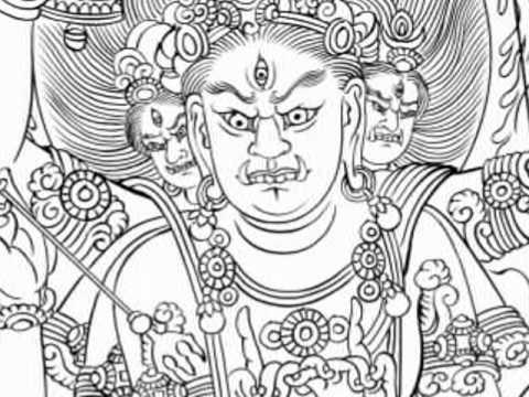 2010-m063-降三世明王 Trailokya vijaya