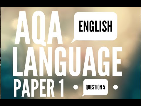 AQA English Language Paper 1
