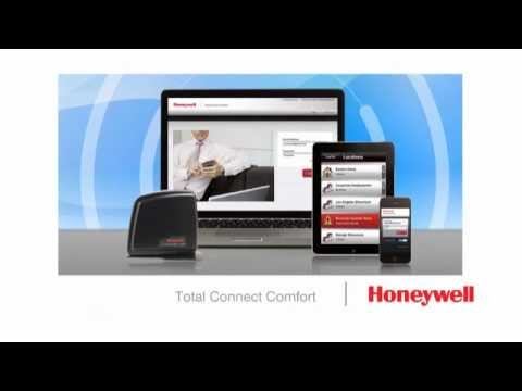 Using Honeywell's Total Connect Comfort Services