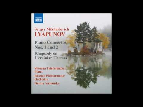 Lyapunov  Rhapsody on Ukrainian Themes