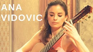 Ana Vidovic plays introduction and variations on a Theme by Mozart Op 9 by Fernando Sor