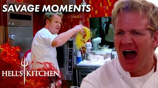 Gordon Ramsay's Most Saטage Moments | Hell's Kitchen | Part One