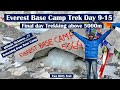 Everest Base Camp Trek 2020 | Day 9-15 | Celebrating our success in Base camp | Above 5000 m