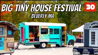 Skoolie At The Big Tiny House Festival - My Battery Is Dead! - Skoolie Conversion Rv Living