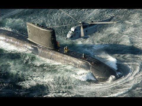 Helicóptero Ingles y Submarino Chileno Hundieron el Ara San Juan