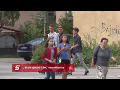 U škole upisano 1 200 manje učenika