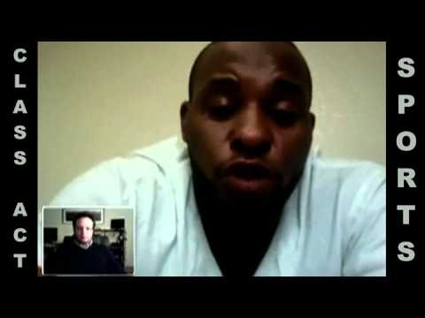 Class Act Sports video interview w/ NFL Linebacker Darrell Reid