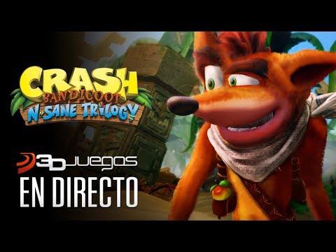 CRASH BANDICOOT N. SANE TRILOGY, gameplay Nintendo Switch