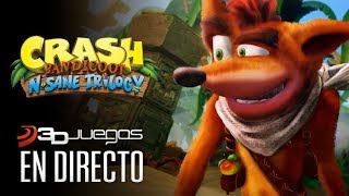 CRASH BANDICOOT N. SANE TRILOGY, gameplay Nintendo Switch