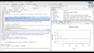 115 Test d'autocorrélation en R (I)