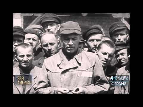 """Liberated American WWII Prisoner - """"Nazi Concentration Camps"""" 1945"""