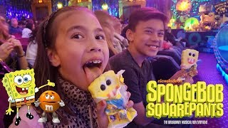 THE SPONGEBOB SQUAREPANTS MUSICAL!!! M&M