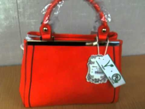 New Alyssa Classic C Vegan Leather Handbag With Double Zipper And Strap