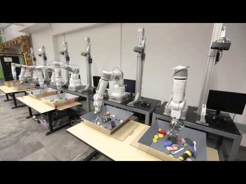 Large-scale data collection with an array of robots