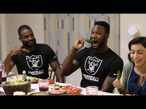 Cena familiar de los Raiders | Football is Family