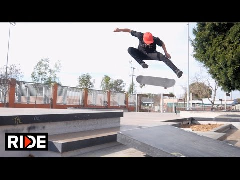 Genesis Delagarza Rips LA Skateparks