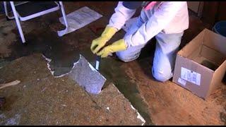 видео Как удалить старый линолеум