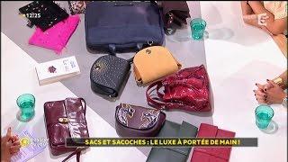 Dossier du Jour : Sacs et sacoches : le luxe à portée de main !