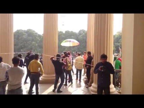 Urvashi Rautela Lucknow shooting