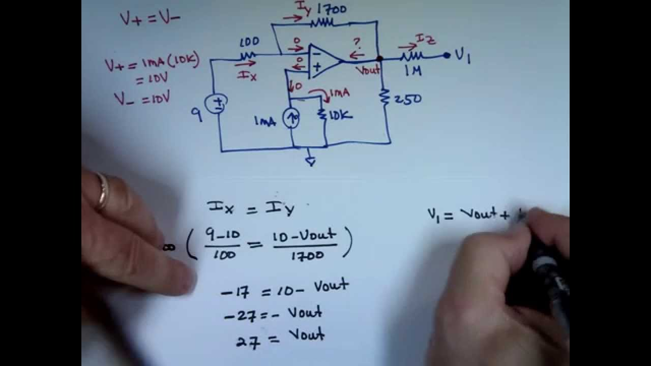 Op Amp Examples Youtube How Does This Opamp Noninverting Amplifier Work