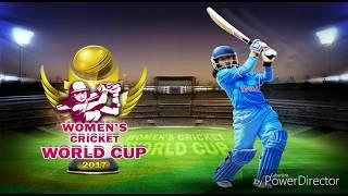 Women's cricket world cup 2017 (Ind vs Pak) gameplay.