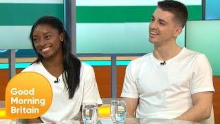Gymnastics Stars Simone Biles and Max Whitlock Due to Perform at London's O2   Good Morning Britain