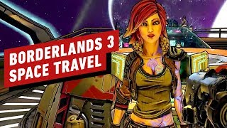 Borderlands 3 Gameplay - Leaving Pandora for Promethea (Space Fast Travel)