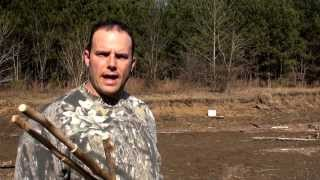 Making the Spear and Spearthrower Part 5 (HD)