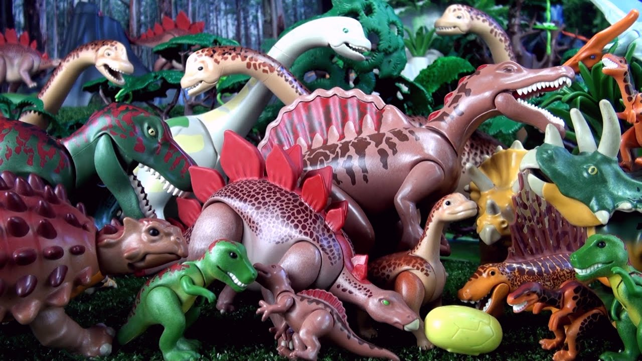 50 playmobil dinosaurs toy dinosaur collection - Dinosaur playmobile ...