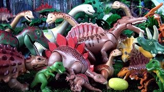 50 Playmobil dinosaurs - Toy Dinosaur collection - Tyrannosaurus Spinosaurus Triceratops Dinos