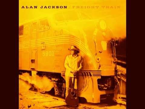 Alan Jackson - Freight train (with lyrics)