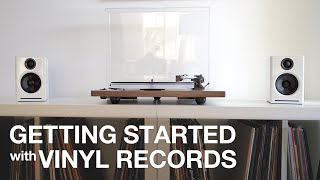 Getting STARTED with Vinyl Records - Using 3 EASY Audio System Setups!