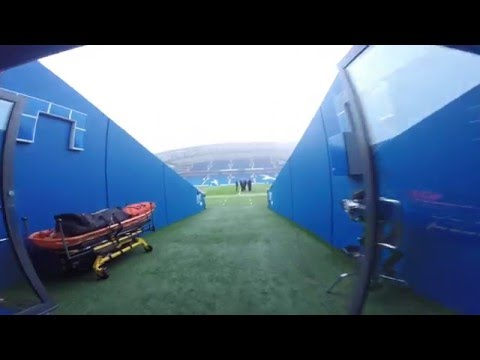 PLAYERS PERSPECTIVE | Arrival At The Amex Stadium