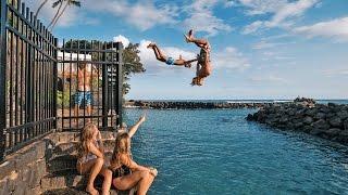 HAWAII: WE FOUND A HIDDEN CLIFF JUMP!!
