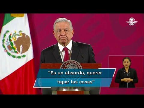 No se protege a nadie en el caso Ayotzinapa, asegura AMLO