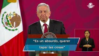 El presidente Andrés Manuel López Obrador señaló que en las investigaciones sobre el caso Ayotzinapa, las instituciones, en vez de debilitarse, se fortalecen